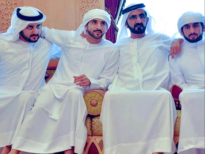 Наследный принц Дубая и два его брата женились в один день - ФОТО
