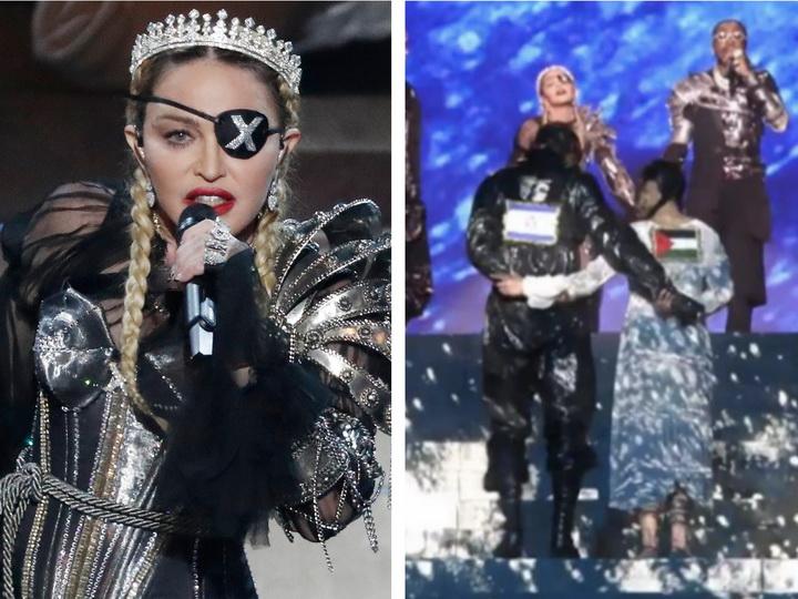 Мадонна сделала официальное заявление о показе флага Палестины на «Евровидении-2019» - ФОТО - ВИДЕО