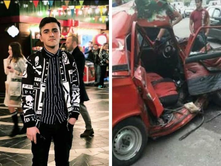В Азербайджане старшеклассник без прав совершил ДТП, погиб студент - единственный ребенок в семье - ФОТО