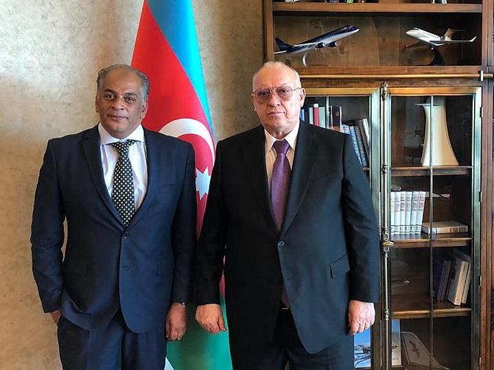 Президент AZAL и посол Египта в Азербайджане обсудили открытие новых рейсов