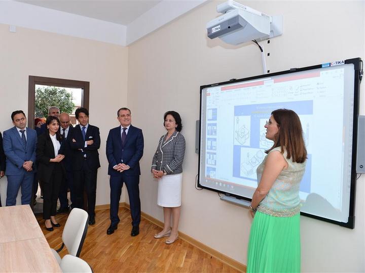 В Баку открылся Итальянско-Азербайджанский центр дизайна - ФОТО