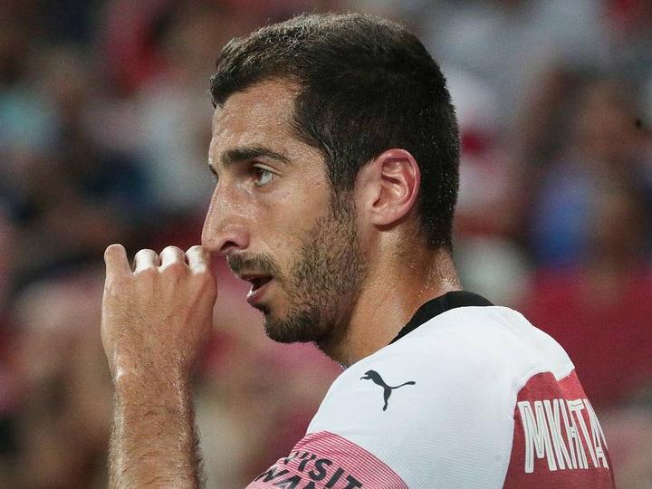 Мхитарян рассказал, почему решил не ехать в Баку