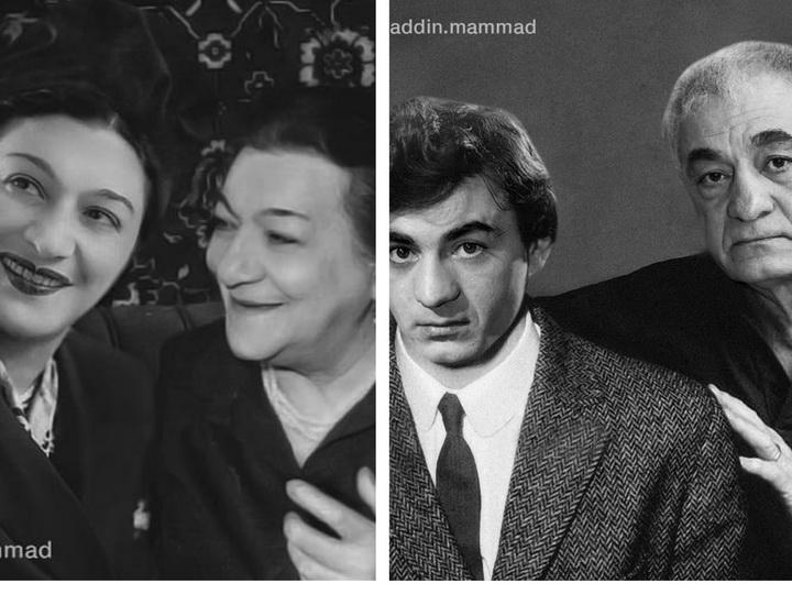 Насиба Зейналова, Фахраддин Манафов и другие азербайджанские знаменитости «повстречавшиеся» с самими собой в молодости - ФОТО