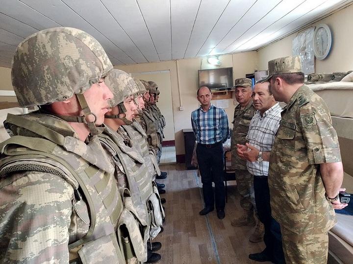 Представители Аппарата омбудсмена посетили воинскую часть в прифронтовой зоне - ФОТО