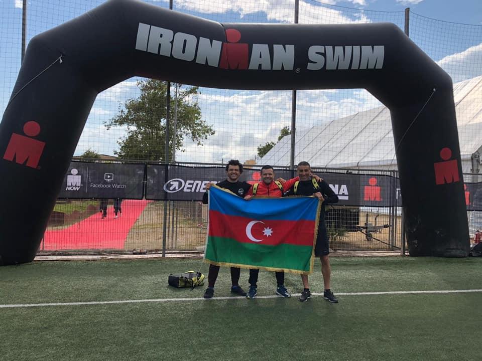 Азербайджанские спортсмены выступили на IRONMAN 70.3 в Испании