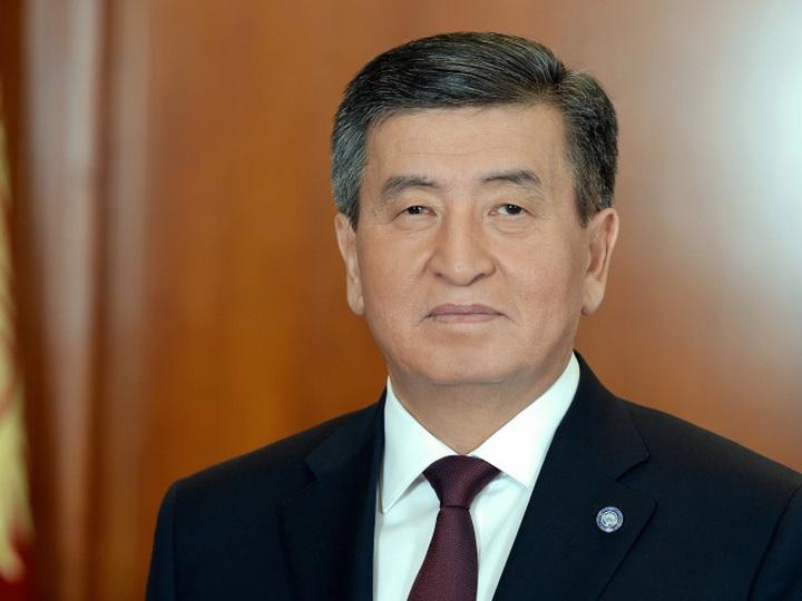 Президент Кыргызстана поздравил Президента Азербайджана