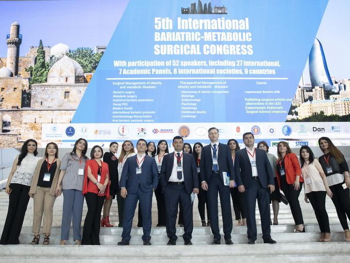 В Баку в очередной раз успешно прошел Международный медицинский конгресс - ФОТО