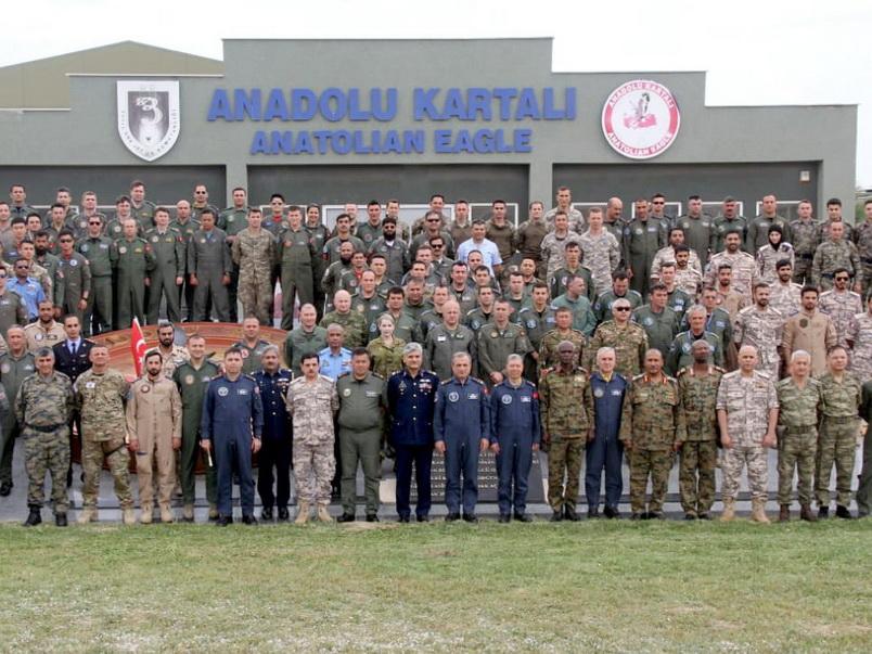 В международных учениях в Турции приняли участие 4 вертолета и около 60 военнослужащих Азербайджанской армии - ВИДЕО