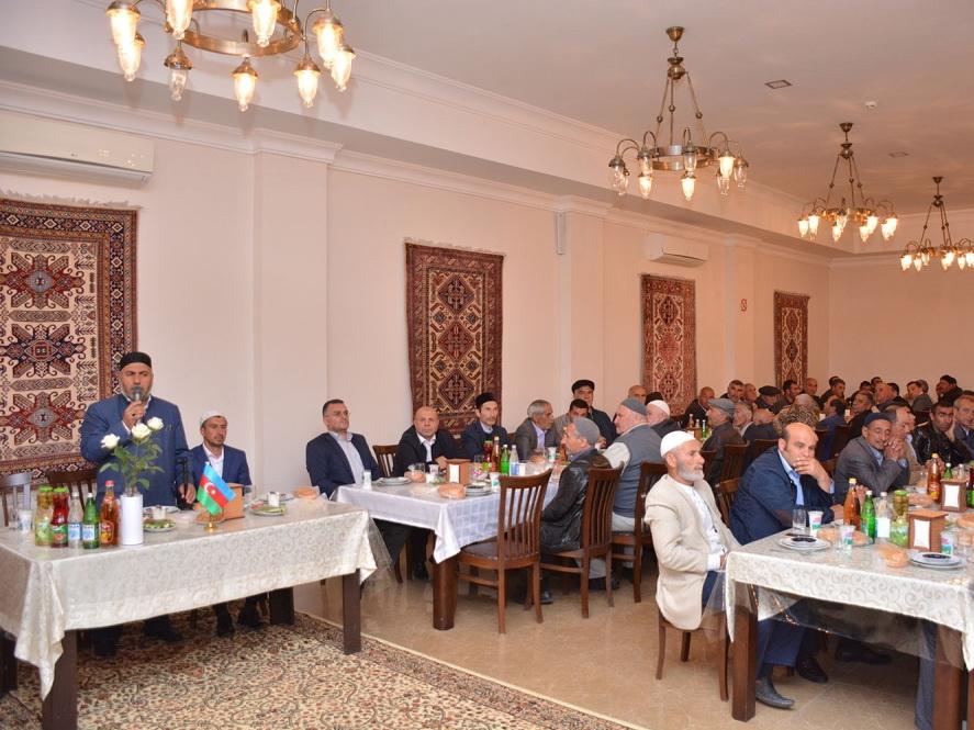 Фонд Гейдара Алиева в священный месяц Рамазан организует ифтар в районах - ФОТО