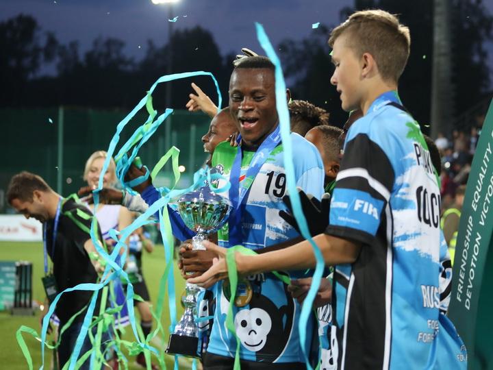 Участники «Футбола для дружбы» намерены завоевать титул Guinness World Records