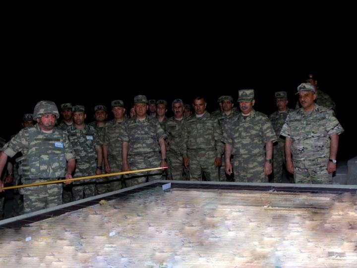 Проведен этап учений с боевой стрельбой в ночное время – ФОТО – ВИДЕО