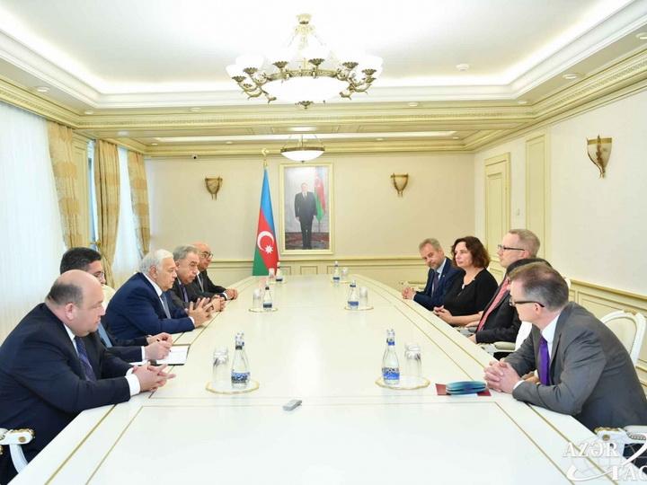 Йоханнес Карс: и столица, и регионы Азербайджана стремительно развиваются