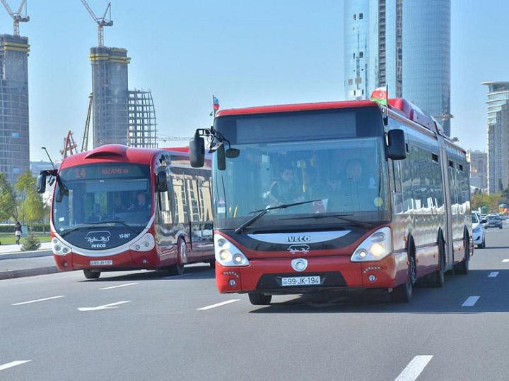 Bəzi avtobusların hərəkət sxemində dəyişiklik edilib – XƏRİTƏ
