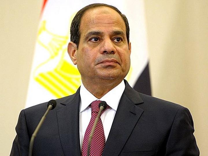 Президент Египта поздравил Президента Азербайджана