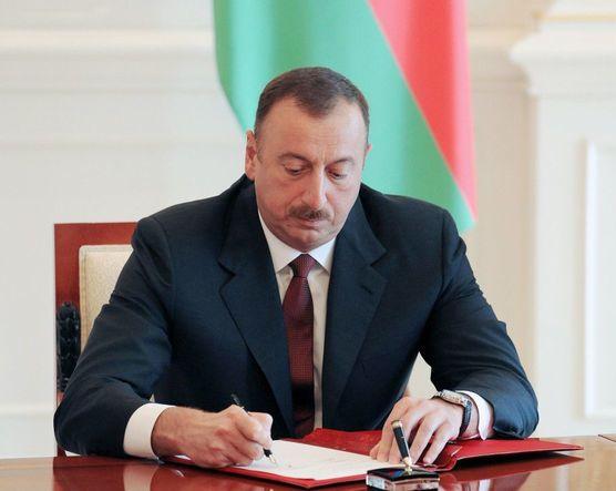 Prezident İlham Əliyev yeni sərəncam imzalayıb