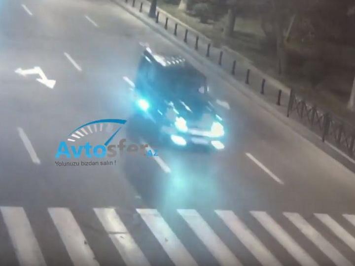 «Gelandewagen перевернулся в воздухе»: Водитель спровоцировал ДТП в Баку – ВИДЕО