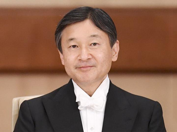 Император Японии поздравил Президента Азербайджана