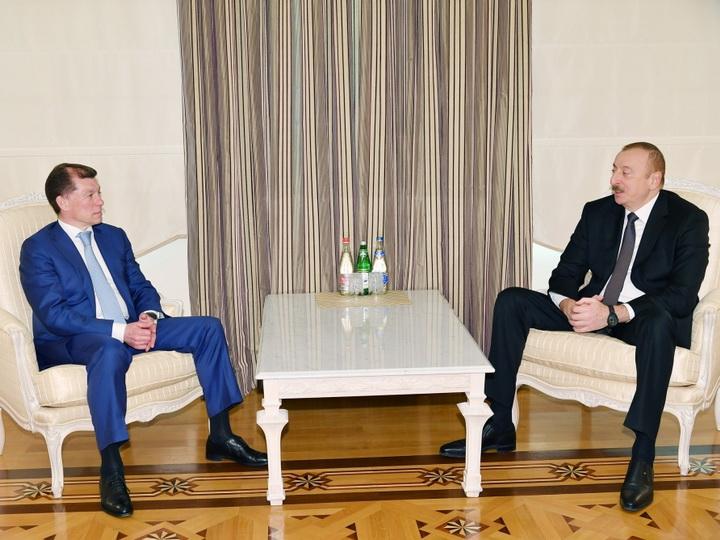 Президент Ильхам Алиев принял министра труда и социальной защиты России - ФОТО