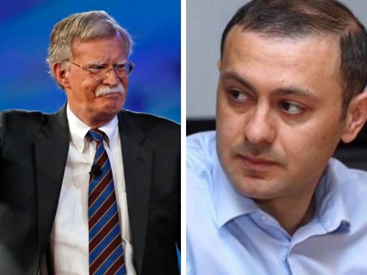 Джон Болтон отказался принимать секретаря совета безопасности Армении