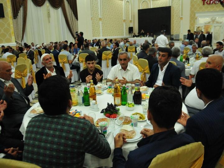 Фонд Гейдара Алиева организовал очередной ифтар в Агсу - ФОТО