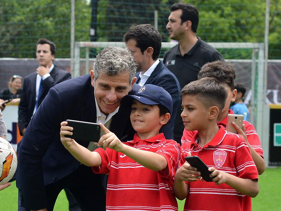 Тольдо, Оуэн и руководство АФФА на Фестивале болельщиков в Баку – ФОТО