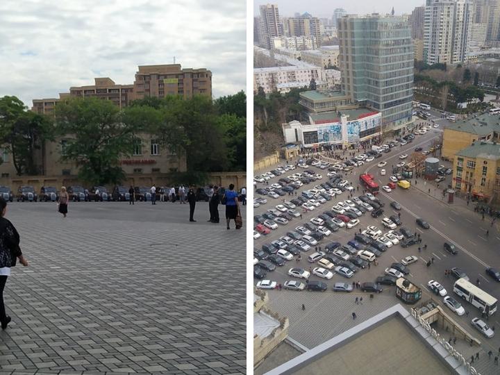 «Чистый и просторный «28 Мая»: Чудесное преображение привокзальной площади Баку - ФОТОФАКТ