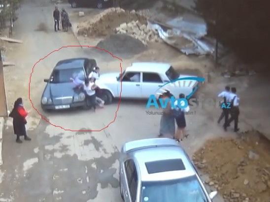 Новые подробности по поводу страшного наезда автомобиля на школьников в Баку