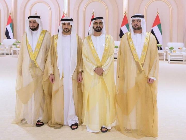 Роскошная свадьба женившихся в один день наследного принца Дубая и двух его братьев - ФОТО
