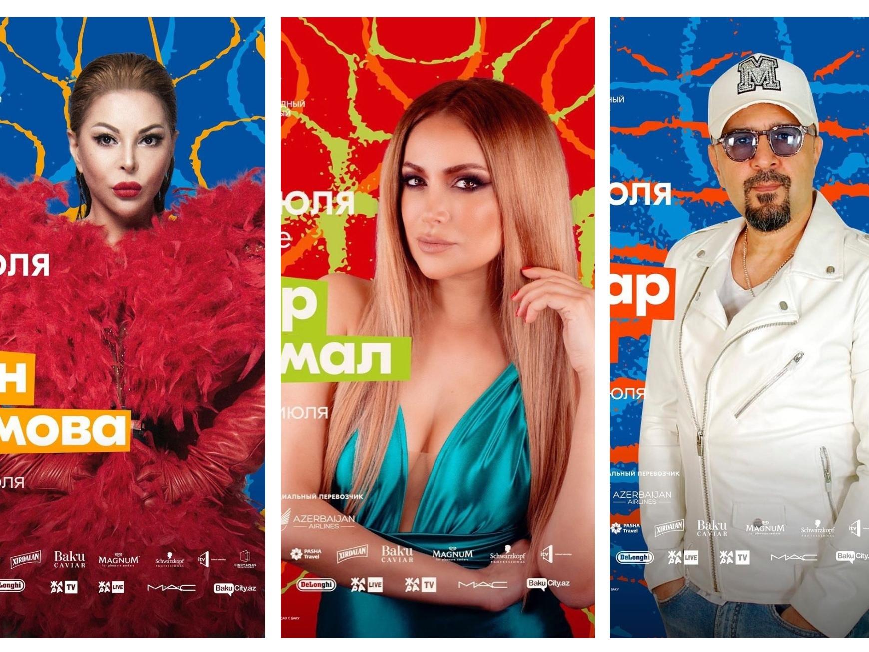Кто из звезд азербайджанской эстрады примет участие в фестивале «Жара-2019»? - ФОТО – ВИДЕО