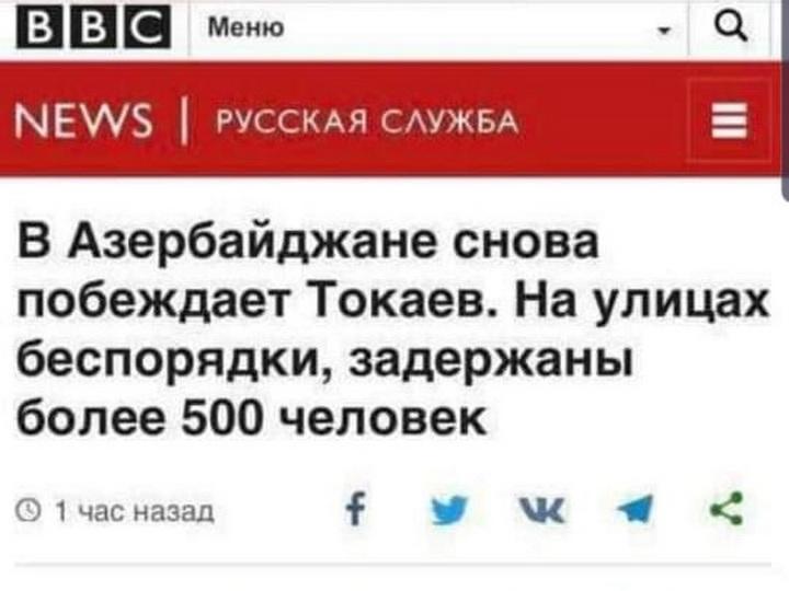 Перл от BBC: В Азербайджане побеждает Токаев - ФОТО