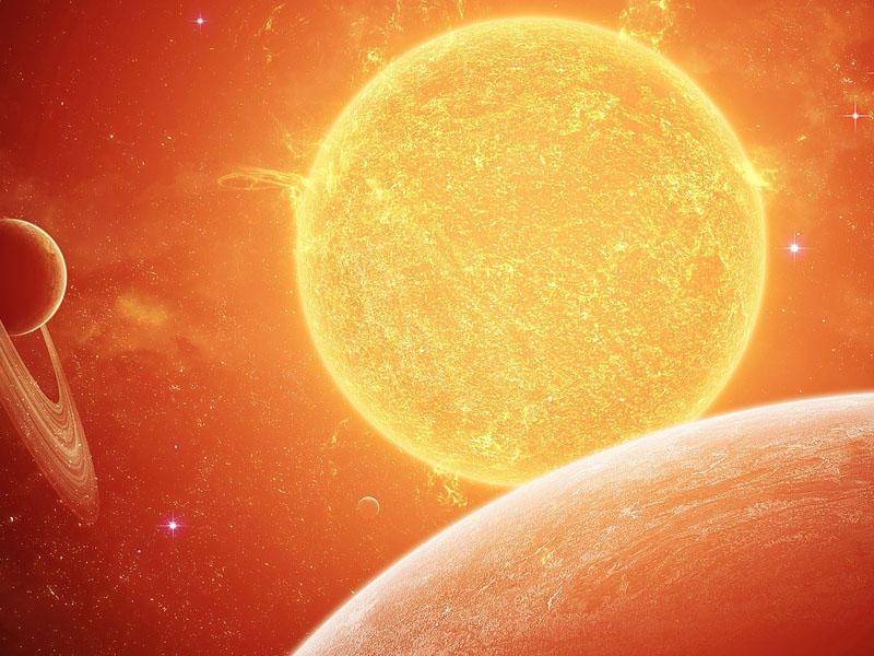Günəşin temperaturu artıb - VİDEO