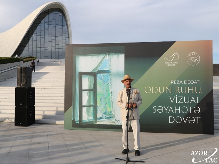 """Bakıda """"Odun ruhu. Vizual səyahətə dəvət"""" sərgisi açılıb - FOTO"""
