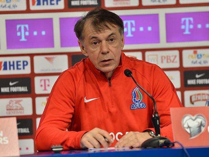 Никола Юрчевич покинул пост главного тренера сборной Азербайджана