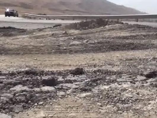 Трасса Баку-Губа разваливается на глазах: Конструктивные недостатки и отсутствие контроля при строительстве - ВИДЕОФАКТ