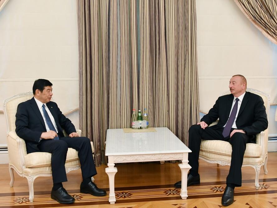 Президент Азербайджана Ильхам Алиев принял генсека ВТО