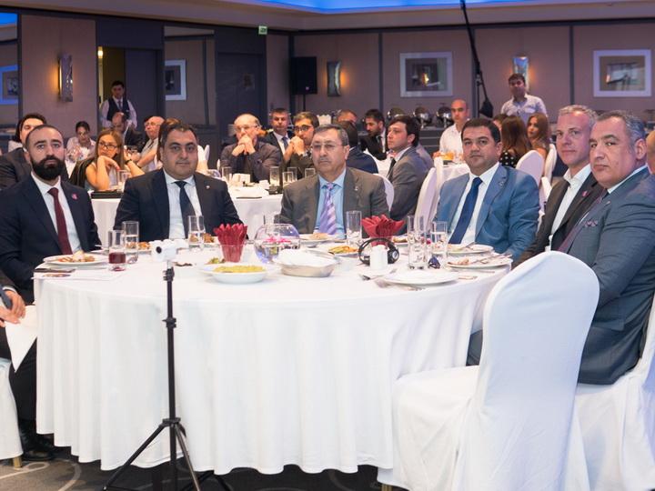 Халаф Халафов и Флориан Зенгстшмид стали почетными гостями CEO LunchBaku – ФОТО