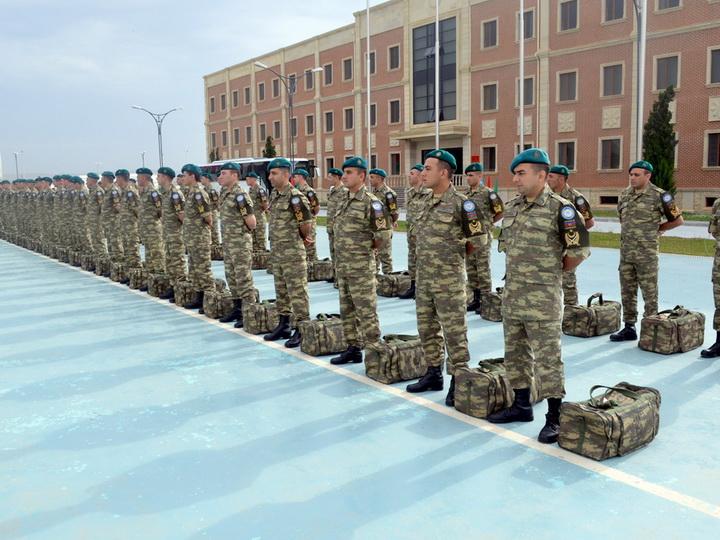 Группа миротворцев из Азербайджана отправлена в Афганистан - ФОТО - ВИДЕО