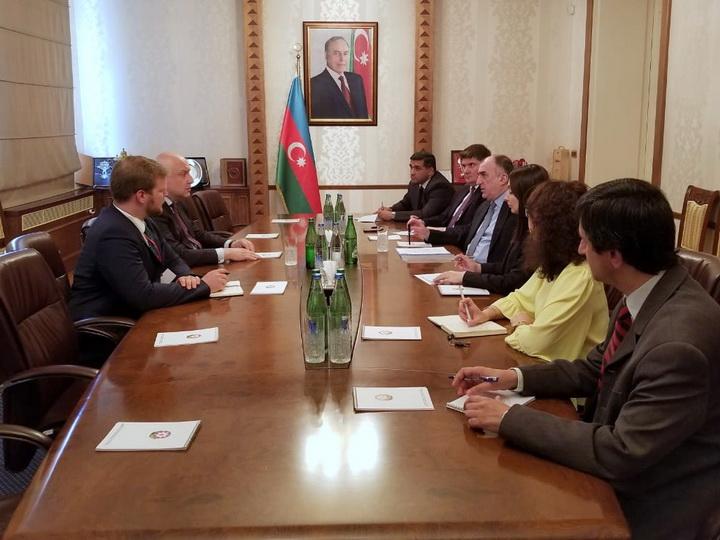 Эльмар Мамедъяров встретился с президентом ПА ОБСЕ