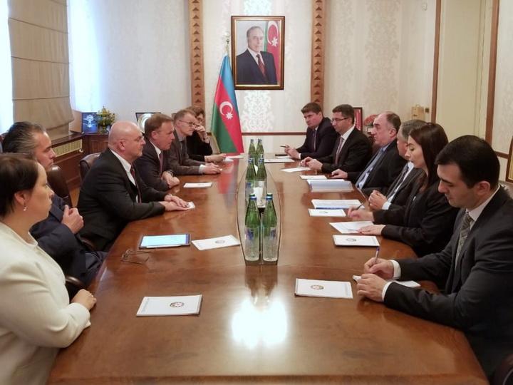 Глава МИД Азербайджана встретился с делегацией Бундестага Германии