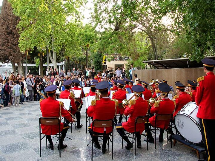 Bu gün Azərbaycan və Böyük Britaniya hərbi orkestrlərinin birgə nümunəvi çıxışları təşkil ediləcək