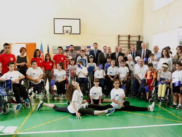 ЕС и UNICEF запустили новый проект в помощь детям с инвалидностью в Азербайджане - ФОТО