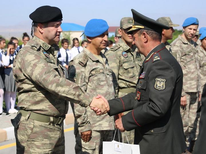 Состоялась церемония проводов турецких военнослужащих, участвовавших в учениях в Азербайджане - ФОТО - ВИДЕО