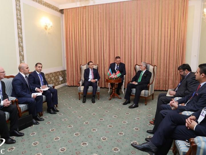 Новруз Мамедов находится с визитом в Таджикистане - ФОТО
