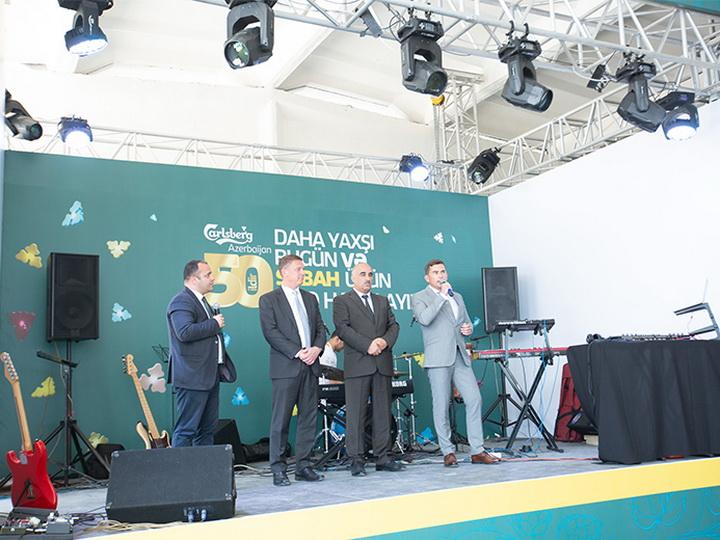 Carlsberg Azerbaijan отметил 50-летний юбилей пивоваренного завода в Азербайджане – ФОТО