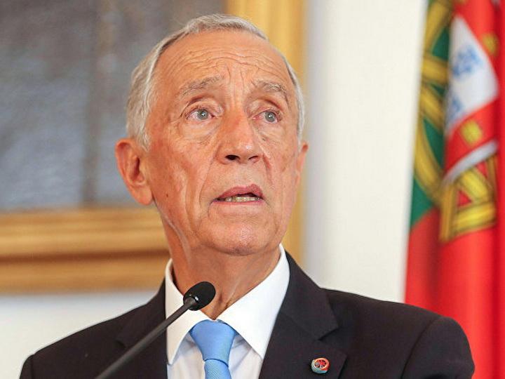 Президент Португалии поздравил Президента Азербайджана