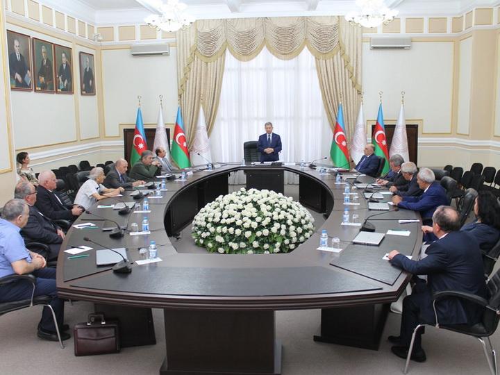 «Обеспечение информационной безопасности Азербайджана»: Акиф Ализаде дал поручения Отделению физико-математических и технических наук НАНА