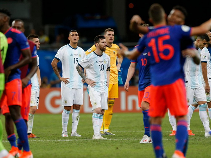 Сборная Аргентины проиграла Колумбии на Кубке Америки - ФОТО - ВИДЕО