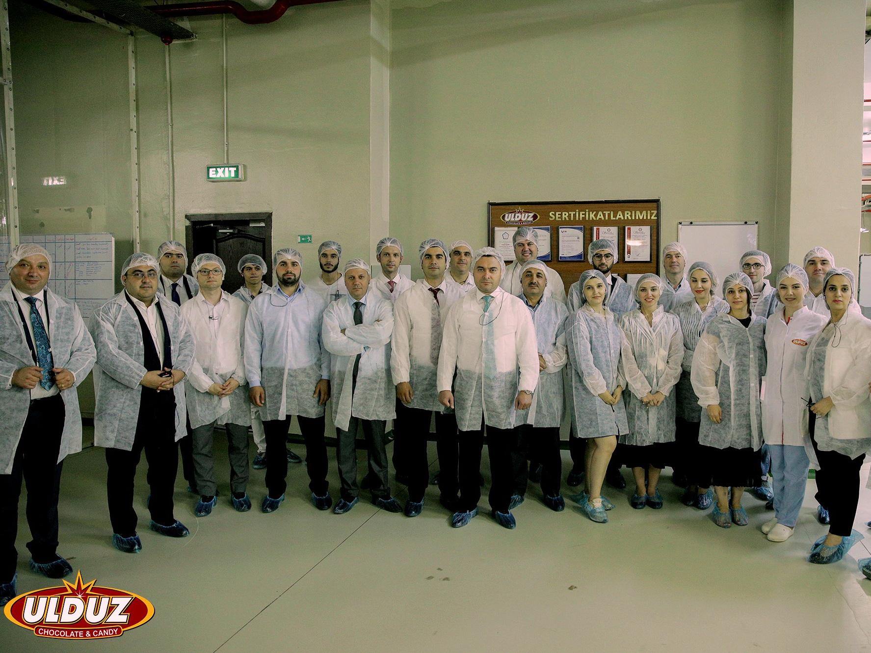 Caspian European Club на шоколадной фабрике «Ulduz» - ФОТО