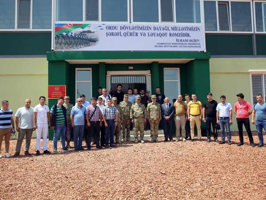 Министр обороны Азербайджана принял участие в открытии нового учебного центра – ВИДЕО – ФОТО