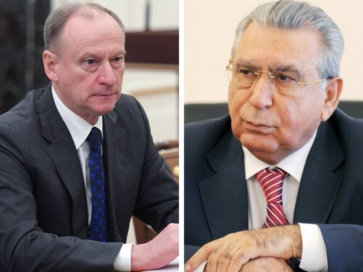 Рамиз Мехтиев встретился с секретарем Совбеза России
